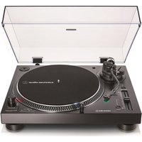 AUDIO TECHNICA AT-LP120XUSB Direct Drive Turntable - Black, Black
