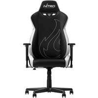 NITRO CONCEPTS S300 EX Gaming Chair - Black & Radiant White, Black