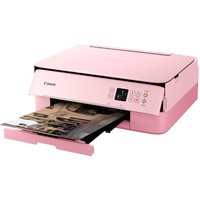 Canon PIXMA TS5352 All-in-One Wireless Inkjet Printer - Pink,