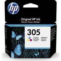 HP 305 Tri-colour Ink Cartridge