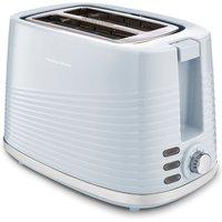 MORPHY RICHARDS Dune 220030 2-Slice Toaster - Blue, Blue