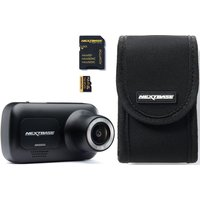 NEXTBASE 222 Full HD Dash Cam & Go Pack with 32 GB U3 microSD Card Bundle