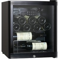 ESSENTIALS CWC15B14 Wine Cooler - Black, Black