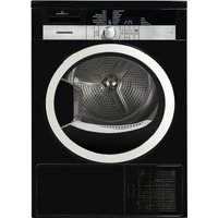 GRUNDIG  GTN38250HGCB Heat Pump Tumble Dryer - Black, Black