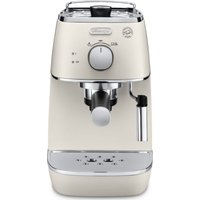 DELONGHI Distinta ECI341.W Coffee Machine - White, White