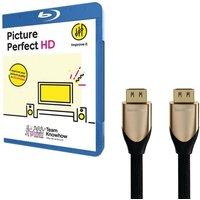 Knowhow Picture Perfect & 1 M Hdmi Cable With Ethernet Bundle, Gold