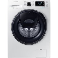 SAMSUNG AddWash WW90K6610QW Washing Machine - White, White