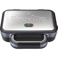 Buy BREVILLE VST041 Deep Fill Sandwich Toaster - Graphite & Stainless Steel, Stainless Steel - Currys PC World