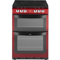 NEW WLD 551ETC Electric Cooker - Metallic Red, Red