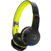 MONSTER Isport Freedom Wireless Headphones - Black & Green, Black