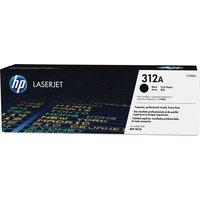 HP 312A Original LaserJet Black Toner Cartridge, Black