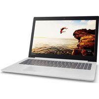 "Lenovo IdeaPad 320-15IAP 15.6"" Laptop - Blizzard White, White"