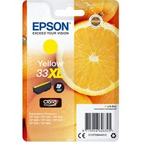 EPSON No. 33 Oranges XL Yellow Ink Cartridge, Yellow