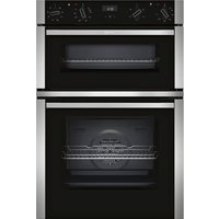 NEFF U1ACE2HN0B Electric Double Oven - Stainless Steel, Stainless Steel