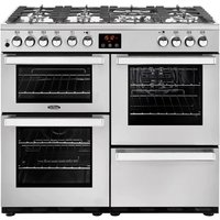 Click to view product details and reviews for Belling Cookcentre 100dft Dual Fuel Range Cooker Stainless Steel Stainless Steel.