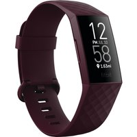 FITBIT Charge 4 Fitness Tracker - Rosewood, Universal.