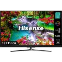 "65"" HISENSE 65U8QFTUK Smart 4K Ultra HD HDR QLED TV with Amazon Alexa"