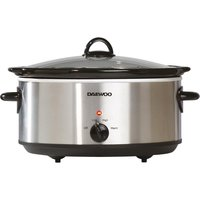 DAEWOO SDA1788 Slow Cooker - Stainless Steel, Stainless Steel