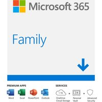 Microsoft Office 365 Home - 1 Year For 5 Users (download)