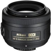 NIKON AF-S DX NIKKOR 35 mm f/1.8 G SWM Standard Prime Lens