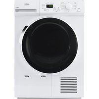 BELLING BEL FHD800 Heat Pump Tumble Dryer - White, White