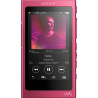 SONY Walkman NW-A35 Touchscreen MP3 Player with FM Radio - 16 GB, Pink, Pink