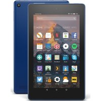 AMAZON Fire 7 Tablet with Alexa (2017) - 8 GB, Marine Blue, Blue