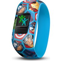 GARMIN vivofit jr 2 Kids Activity Tracker - Marvel Avengers, Stretchy Band