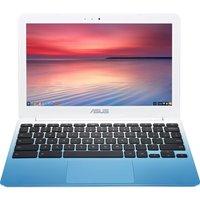 "ASUS C201 11.6"" Chromebook - White, White"