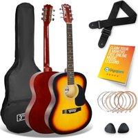 3RD AVENUE STX10 Acoustic Guitar Bundle - Sunburst