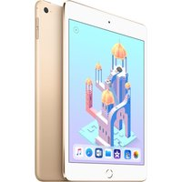 APPLE iPad mini 4 - 128 GB, Gold, Gold