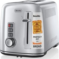 Buy BREVILLE The Perfect Fit for Warburtons VTT570 2-Slice Toaster - Stainless Steel, Stainless Steel - Currys PC World