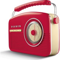 Click to view product details and reviews for Akai A60010rdabbt Portable Dabﱓ Retro Bluetooth Clock Radio Red Red.