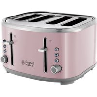 Buy R HOBBS Bubble 24412 4-Slice Toaster - Pink, Pink - Currys