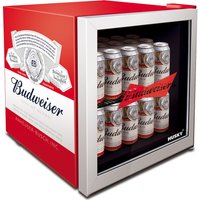 HUSKY Budweiser HUS-HU253 Drinks Cooler - Red, Red