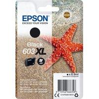 EPSON 603 XL Starfish Black Ink Cartridge, Black