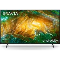 "65"" SONY BRAVIA KD65XH8096BU Smart 4K Ultra HD HDR LED TV with Google Assistant, Blue"