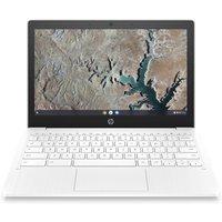 "HP 11a 11.6"" Chromebook - 32 GB eMMC, White, White"
