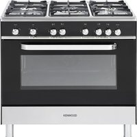 KENWOOD CK305G Gas Range Cooker - Black, Black