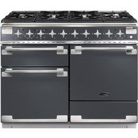 RANGEMASTER Elise 110 Dual Fuel Range Cooker - Slate and Chrome