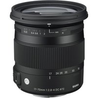 SIGMA 17-70 mm f/2.8-4 DC HSM OS Wide-angle Zoom Lens with Macro - for Canon