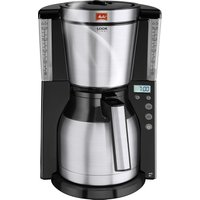 MELITTA Look IV Therm Timer Filter Coffee Machine - Black and Stainless Steel, Stainless Steel