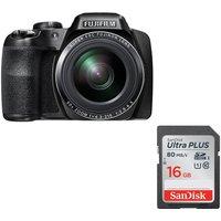 FUJIFILM FinePix S9800 Bridge Camera & 16 GB Memory Card Bundle