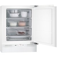 AEG ABB6821VAF Integrated Undercounter Freezer, Cream
