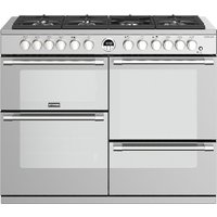 STOVES Sterling S1100DF 110 cm Dual Fuel Range Cooker - Stainless Steel, Stainless Steel