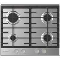 HOOVER HHG6BRMX Gas Hob - Stainless Steel, Stainless Steel