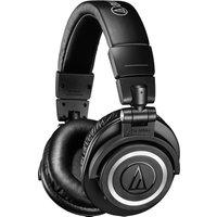 AUDIO TECHNICA ATH-M50XBT Wireless Bluetooth Headphones - Black, Black
