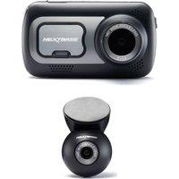 Nextbase 522GW Quad HD Dash Cam with Amazon Alexa & NBDVRS2RWC Quad HD Rear View Dash Cam Bundle