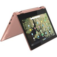 "Lenovo C340-11 11.6"" Intel Celeron 2 in 1 Chromebook - 64 GB eMMC, Pink, Pink"