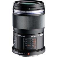 OLYMPUS M.Zuiko Digital ED 60 mm f/2.8 Prime Macro Lens - Black, Black